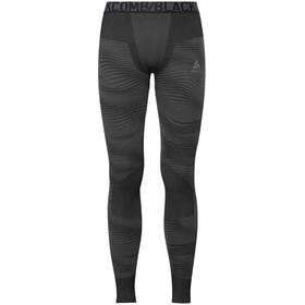 Odlo Suw Performance Blackcomb Bottom Pants Men black-odlo concrete grey-silver
